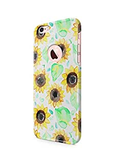 Cover Affair Flowers Printed Back Cover Case for Apple iPhone 6S