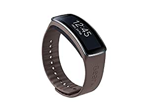 Samsung ETSR350BSEGWW Bracelet d'origine pour Samsung Galaxy Gear Fit Gris