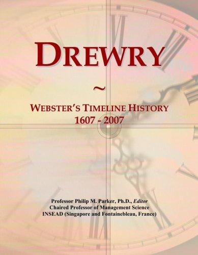 drewry-websters-timeline-history-1607-2007
