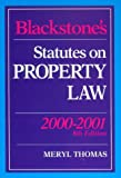 img - for Blackstone's Statutes on Property Law 2000/2001 (Blackstone's Statute Books) book / textbook / text book