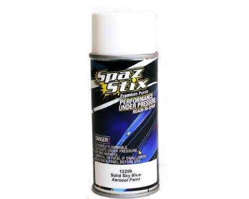 Spaz Stix Solid Aerosol Paint, Sky Blue, 3.5-Ounce