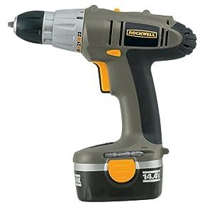 Rockwell ProGrade RK2722K2 14.4-Volt Cordless Drill