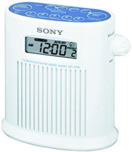 Sony ICF-S79V Weather Band Shower Radio