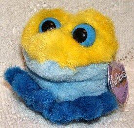 Winky the Yellow Frog Puffkin - 1