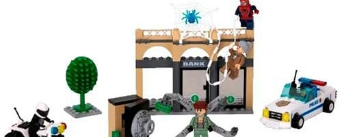 レゴ スパイダーマン2 ドック・オクの銀行強盗 4854