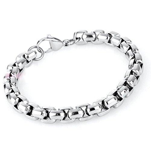 bracciale-in-acciaio-inossidabile-con-intreccio-box-chain-per-uomo-e-donna