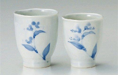 Tsuyukusa 3Inches Set Of 5 Pair Of Teacups Jiki Japanese Original Porcelain