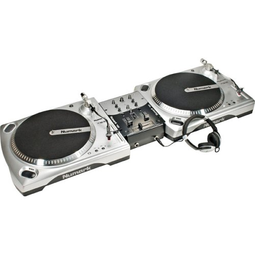 New Numark Beginner Dj Turntable Package