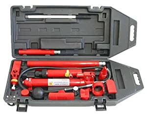 Amazon.com: 10 Ton Hydraulic Porta Power Auto Body Frame Repair Kit