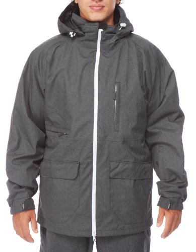 LIGHT Erwachsene Jacke Foster, Dark Grey Heather, L, FA861-13