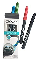 Ozobot Washable Markers, Color Code Drawing, Works with all Ozobots