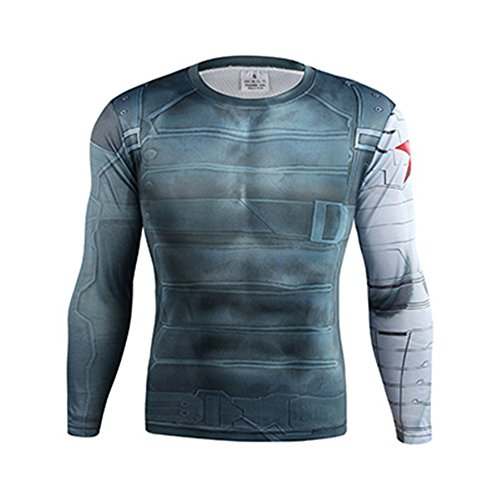 Winter Soldier Quick-Dry Sports T-Shirt Cycling Jersey