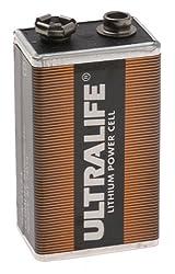 LITHIUM PP3 1.2Ah 9V SMOKE DETECTOR PIR BATTERY  by Monacor