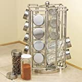 RSVP International 16-bottle Revolving Spice Rack