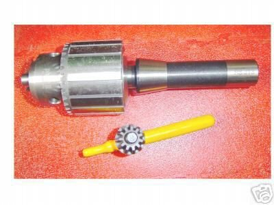 "3/16"" to 3/4"""" DRILL CHUCK w/R-8 taper for milling machine!!!"