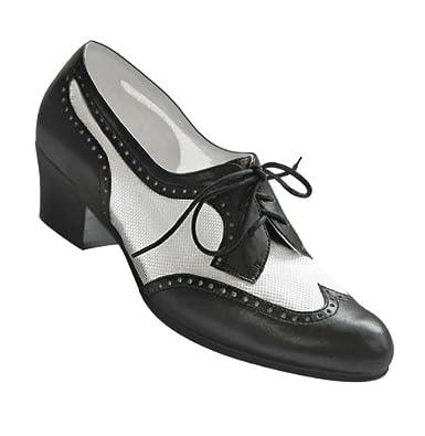aris allen s black and white 1950s mesh wingtip