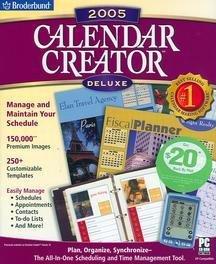 Calendar Creator 2005 Deluxe