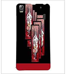 PrintDhaba Chinese Symbol D-5934 Back Case Cover for LENOVO K3 NOTE (Multi-Coloured)