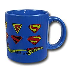 ICUP 16021 DC Superman Logo Evolution Mug, Multicolor