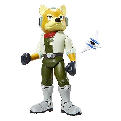 "World of Nintendo 4.25"" Fox McCloud Figure Wave 3"