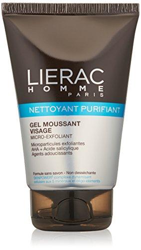 Lierac Nettoyant Purifiant - Gel Detergente Viso Micro-Esfoliante 100ml