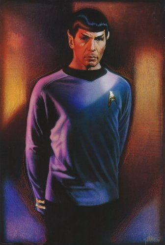 Star Trek Version A (Spock) Special Edition Movie Poster Single Sided Original 27x40