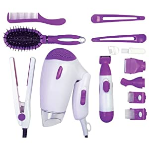 Ragalta USA RLTK-3820 5 Piece Complete Styling and Grooming Kit