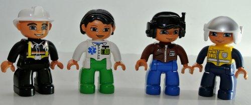 Lego Duplo CustomSet: Rettungskräfte (Ergänzungsset