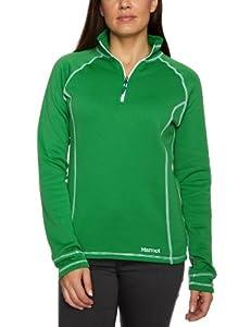 Marmot Power Stretch Women's Fleece Half Zip - Fern, X-Large