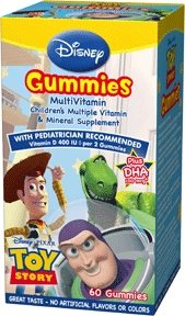 Disney Gummies Multivitamin, Toy Story 60 ea