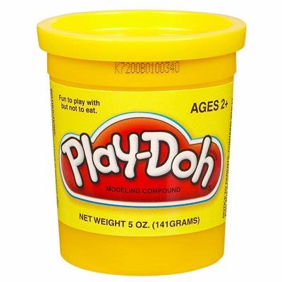PLAY-DOH PlayDoh Compound Yellow Single 5 oz Can 23869
