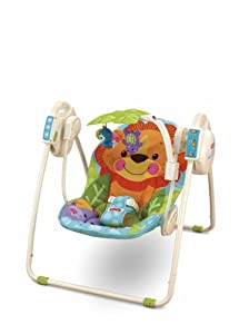 Fisher-Price Precious Planet Blue Sky Open Top Take-Along Swing
