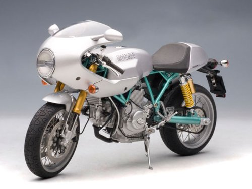Ducati Sport 1000 Motorcycle Paul Smart 1/12 Silver