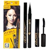 Clio Waterproof Brush Liner Kill Black Set