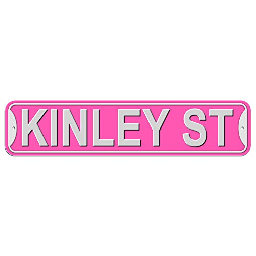 kinley-st-street-sign-plastic-wall-door-street-road-female-name-pink