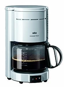 Amazon.com: Braun KF 47 Aromaster Plus Wei? Kaffeemaschine: Drip Coffeemakers: Kitchen & Dining