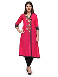 Just Wow Casual Solid Women's Kurti