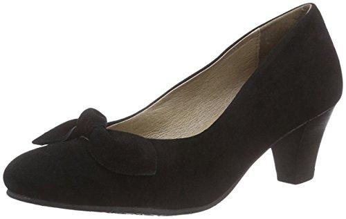 Andrea Conti 0228513002, Scarpe col tacco donna, nero (nero), 39