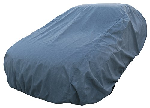 Leader Accessories Platinum Guard Gray 7 Layer Universal Car Cover with Cotton Outdoor Indoor Use (Cars up to 16'8 (Car Outdoor Accessories compare prices)