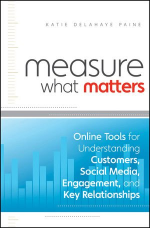 Measure What Matters: Online Tools For Understanding Customers, Social Media, Engagement, And Key Relationships front-504941