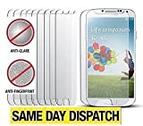 10 x Samsung Galaxy S4 i9505 Anti-Glare (Matte) Screen Protectors Cover Film & Cloth