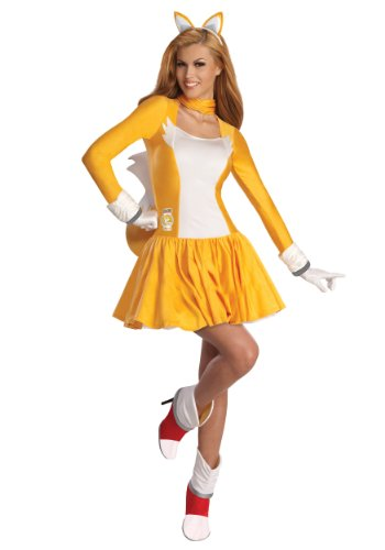 Rubie's Costume Sonic The Hedgehog Adult Tails Dress and Accessories