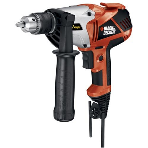 Black & Decker DR550 7 Amp 1/2-Inch VSR Drill/Driver
