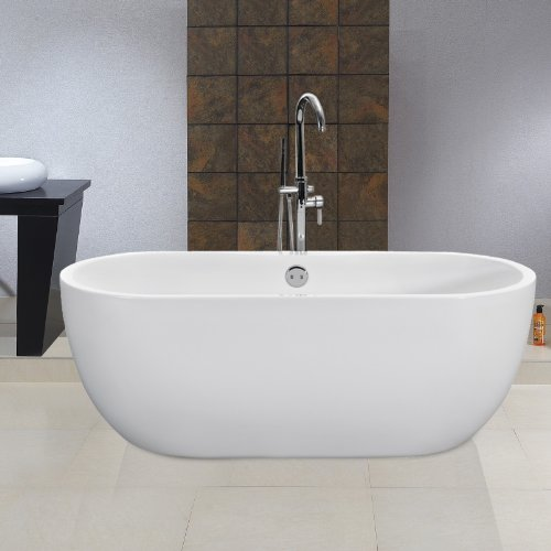 MODERN FREESTANDING ROLL TOP BATH TUB
