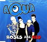 AQUA ROSES ARE RED