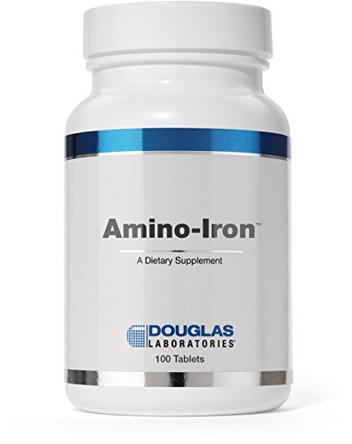 Douglas Laboratories® - Amino-Iron - Highly Absorbable Iron / Amino Acid Supplement - 100 Tablets (Douglas Laboratories Iron compare prices)