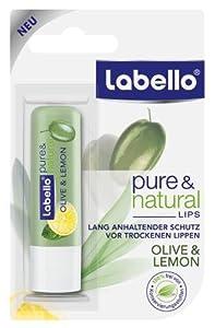 Labello Lippenpflege Olive & Lemon, 3er Pack (3 Stück)