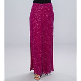 Beaded Evening Skirt - Best seller for Evening, Formal, Holiday, Party, Wedding by Sean Collection (507) Fuschia