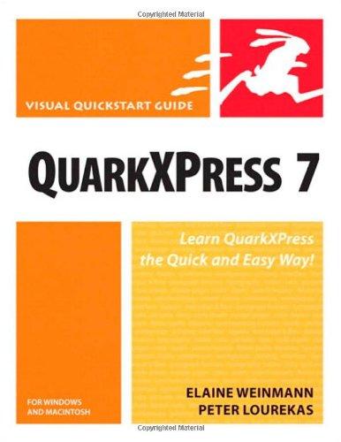 QuarkXPress 7 for Windows & Macintosh