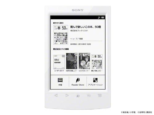 Sony (SONY) e-book reader Wi-Fi model Reader white PRS-T2/WC